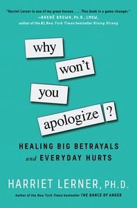 [해외]Why Won't You Apologize? (Paperback)