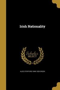 [해외]Irish Nationality (Paperback)