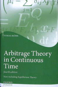 [해외]Arbitrage Theory in Continuous Time