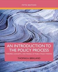 [해외]An Introduction to the Policy Process