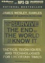 [해외]How to Survive the End of the World as We Know It (MP3 CD)