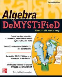 [해외]Algebra Demystified