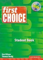 First Choice Student Book(CD 1장 포함포함)