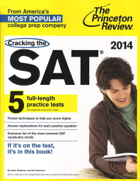 Cracking the SAT(2014)