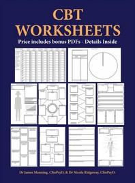 [해외]CBT Worksheets (Hardcover)