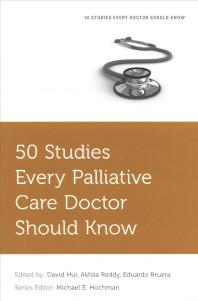 [해외]50 Studies Every Palliative Care Doctor Should Know