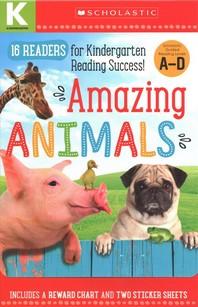 [해외]Amazing Animals A-D Kindergarten Box Set