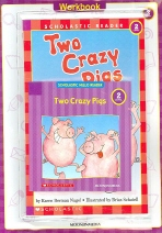 Two Crazy Pigs(CD1장포함)(Scholastic Hello Reader 워크북 세트 2-7)(전2권)