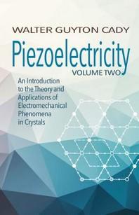 [해외]Piezoelectricity (Paperback)