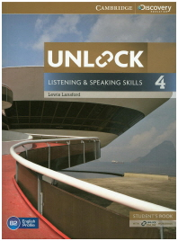 [해외]Unlock Level 4 Listening and Speaking Skills Student's Book and Online Workbook