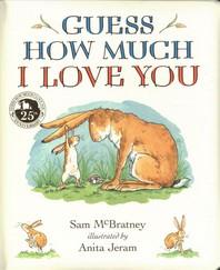 [해외]Guess How Much I Love You Padded Board Book (Board Books)