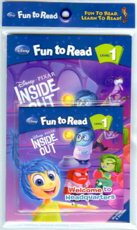 Inside Out: Welcome to Headquarters 세트(CD1장포함)(Disney Fun To Read 1-27)
