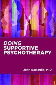 [해외]Doing Supportive Psychotherapy