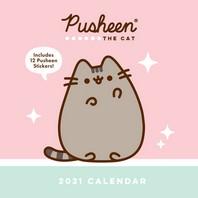 [해외]Pusheen 2021 Wall Calendar