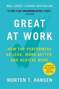 [해외]Great at Work (Hardcover)