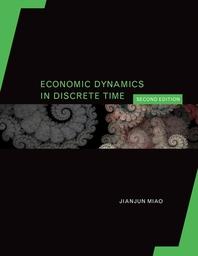[해외]Economic Dynamics in Discrete Time