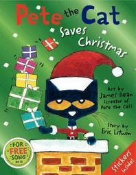 [해외]Pete the Cat Saves Christmas (Hardcover)