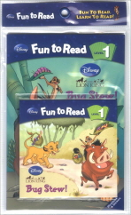 Bug Stew(CD1장포함)(Disney Fun to Read Level 1)