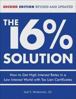 [해외]The 16 % Solution, Revised Edition