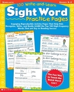 [해외]100 Write-And-Learn Sight Word Practice Pages