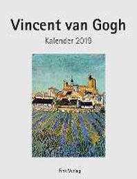 Vincent van Gogh Kunstkarten-Einsteckkalender 2019
