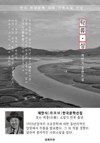 탁류(濁流) 상권 - 채만식 한국문학선집(장편소설)