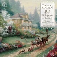 [해외]Thomas Kinkade Lightposts for Living 2019 Wall Calendar (Wall)