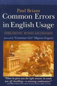 [해외]Common Errors in English Usage
