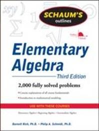 Schaum Outlines Elementary Algebra
