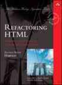 [해외]Refactoring HTML (Hardcover)