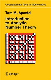 [해외]Introduction to Analytic Number Theory
