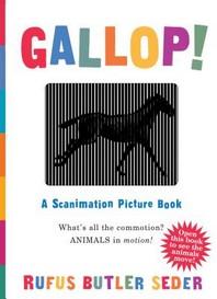 [보유]Gallop!: A Scanimation Picture Book