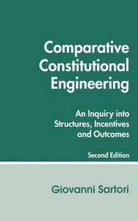 COMPARATIVE CONSTITUTIONAL ENGINEERING, 2/E(PAPERBACK)