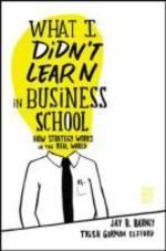[해외]What I Didn't Learn in Business School