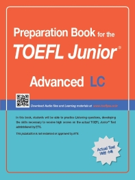 TOEFL Junior Test LC: Advanced(Preparation Book for the)(CD1������)