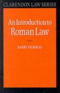 [해외]An Introduction to Roman Law