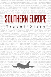 [해외]Southern Europe Travel Diary (Paperback)