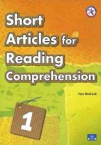 SHORT ARTICLES FOR READING COMPREHENSION. 1(AUDIO CD1장포함)