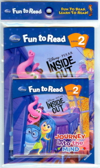 Inside Out: Journey into the Mind 세트(CD1장포함)(Disney Fun To Read 2-29)