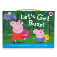 Peppa Let's Get Busy Carry Case