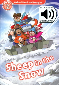 Sheep in the Snow (with MP3)