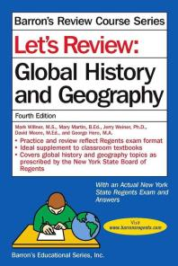 Global History and Geography (Lets Review)(Barron's Review Course 시리