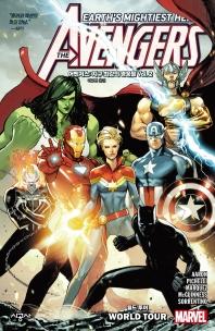 어벤저스: 지구 최강의 영웅들 Vol. 2 월드 투어(마블 그래픽 노블)(Paperback)