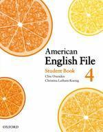 AMERICAN ENGLISH FILE. 4(STUDENT BOOK)