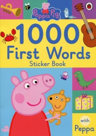 [해외]Peppa Pig: 1000 First Words Sticker Book