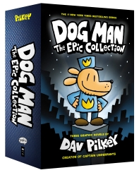 Dog Man #1-3 Boxed Set:The Epic Collection (Hardcover)