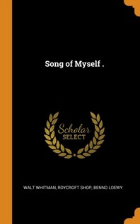 [해외]Song of Myself . (Hardcover)