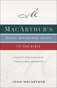 [해외]Macarthur's Quick Reference Guide to the Bible