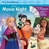 Disney's Movie Night Read-Along Storybook and CD Collection