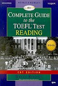 COMPLETE GUIDE TO THE TOEFL TEST:READING